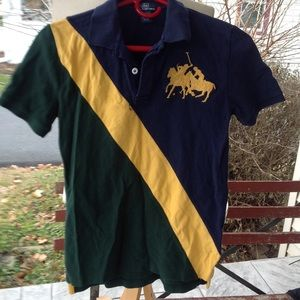 Boys polo shirt.
